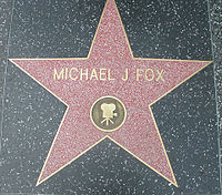 Fox's star on the Hollywood Walk of Fame for Motion Picture – 7021 Hollywood Blvd.