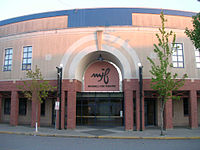 The Michael J. Fox Theatre at Burnaby South Secondary School