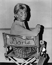 On the set of The Doris Day Show