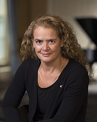 Julie Payette, CSA astronaut and the 29th Governor General of Canada