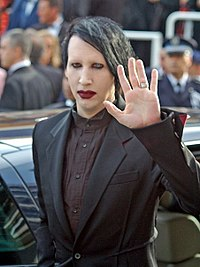 Manson at the 2006 Cannes Film Festival