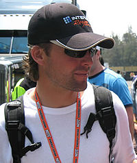 Barrett in Mexico City, 2008