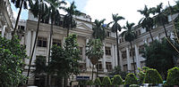 University of Calcutta, established in 1857, was the first multidisciplinary and secular Western-style institution in Asia.