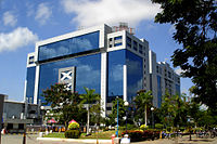 Tidel Park, the then largest IT park in Asia when it was opened in 2000.