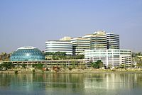 Hyderabad is a major IT services centre.