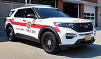 2020 Police Interceptor Utility being used by Vigilante Fire Department as a medic response unit.