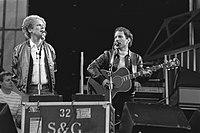 The group performing in the Netherlands in 1982