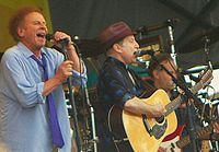 The duo at the 2010 New Orleans Jazz and Heritage Festival