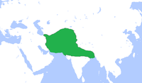 The Ghurid Empire converted to Islam from Buddhism.