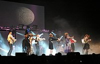 """Dancers from So You Think You Can Dance (Season 2) performing the Zombie dance or the """"Ramalama (Bang Bang)"""" which won Wade his first Emmy in 2007"""