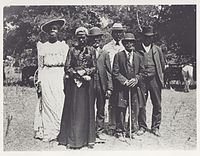 An early celebration of Emancipation Day (Juneteenth) in 1900