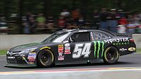 The Monster Energy-sponsored No. 54 car, driven by Boris Said, in 2015