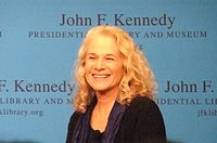 King during an interview at the JFK Presidential Library, Boston, Mass., April 12, 2012
