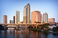 Tampa is the thirteenth largest city in the region, and serves as an anchor to the regions fourth-largest metro area.