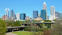 Charlotte is the second-largest city in the region, and serves as an anchor to the regions sixth largest metro area.