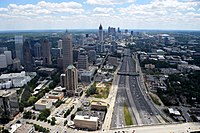 Atlanta is the eighth largest city in the region, and serves as an anchor to the regions third-largest metro area.