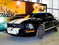 Promotion of Need for Speed: Undercover at IgroMir 2008