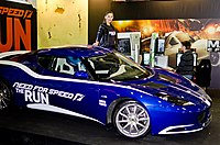 Promotion of Need for Speed: The Run at IgroMir 2011