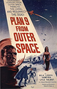 Plan 9 from Outer Space is an example of a cult film.