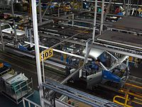 The world's largest automobile manufacturing plant in Ulsan, South Korea, produces over 1.6 million vehicles annually.