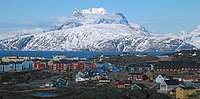 Nuuk, the capital city of Greenland