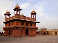 Diwan-i-Khas (Hall of Private Audience) in Fatehpur Sikri