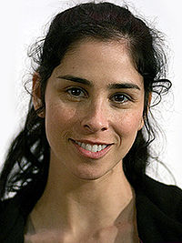 """Sarah Silverman made her debut in the two-part episode """"Future's End"""""""