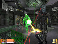 This is a screenshot from the game Elite Force from 2000