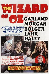 The Wizard of Oz (1939) is considered one of the greatest movies of all time.