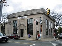 Former MassBank building downtown which was used for a bank scene in the movie The Town (2010)