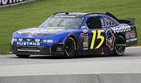 Hill's No. 15 Nationwide car for Rick Ware Racing at Road America in 2011