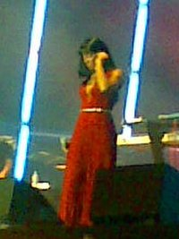 Rowland performing during the Ms. Kelly Tour in 2007