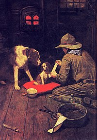 Rockwell's first Scouting calendar, 1925