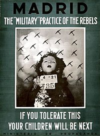 """The """"If You Tolerate This Your Children Will Be Next"""" poster"""