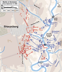 Assaults by the IX Corps, 10 a.m. to 4:30 p.m.