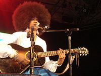 Hill performing in 2005