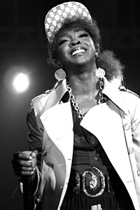 Lauryn Hill performing in Brazil in 2007