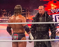 Triple H and The Undertaker at WrestleMania XXVIII