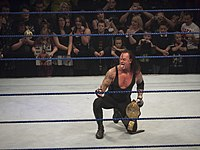 The Undertaker is a three-time World Heavyweight Champion