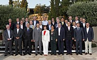 Foreign Ministers of the European Union countries in Limassol during Cyprus Presidency of the EU in 2012