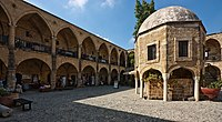 Büyük Han, a caravanserai in Nicosia, is an example of the surviving Ottoman architecture in Cyprus.