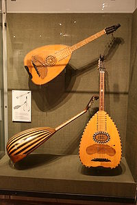 Laouto, dominant instrument of the Cypriot traditional music.