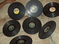 Examples of Congolese 78 rpm records