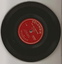 Uncommon Columbia 7-inch vinyl 33 1⁄3 rpm microgroove ZLP from 1948