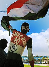 Sudhir Kumar Chaudhary, a fan of Tendulkar who earned the privilege of tickets to all of India's home games