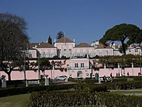 Belém Palace serves as the official residence and workplace of the President of the Republic.