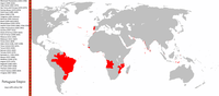 Areas across the world that were, at one point in their history, part of the Portuguese Empire