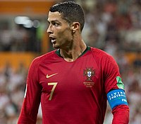 Cristiano Ronaldo is consistently ranked as the best football player in the world and considered to be one of the greatest players of all time.