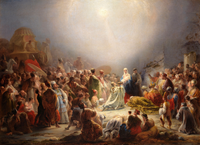 Domingos Sequeira was one of the most prolific neoclassical painters. (Adoration of the Magi; 1828)
