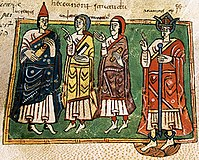 Illustrated depiction of the First Council of Braga of 561 CE